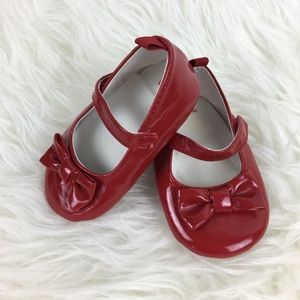 Gymboree Red Baby Shoes size 03